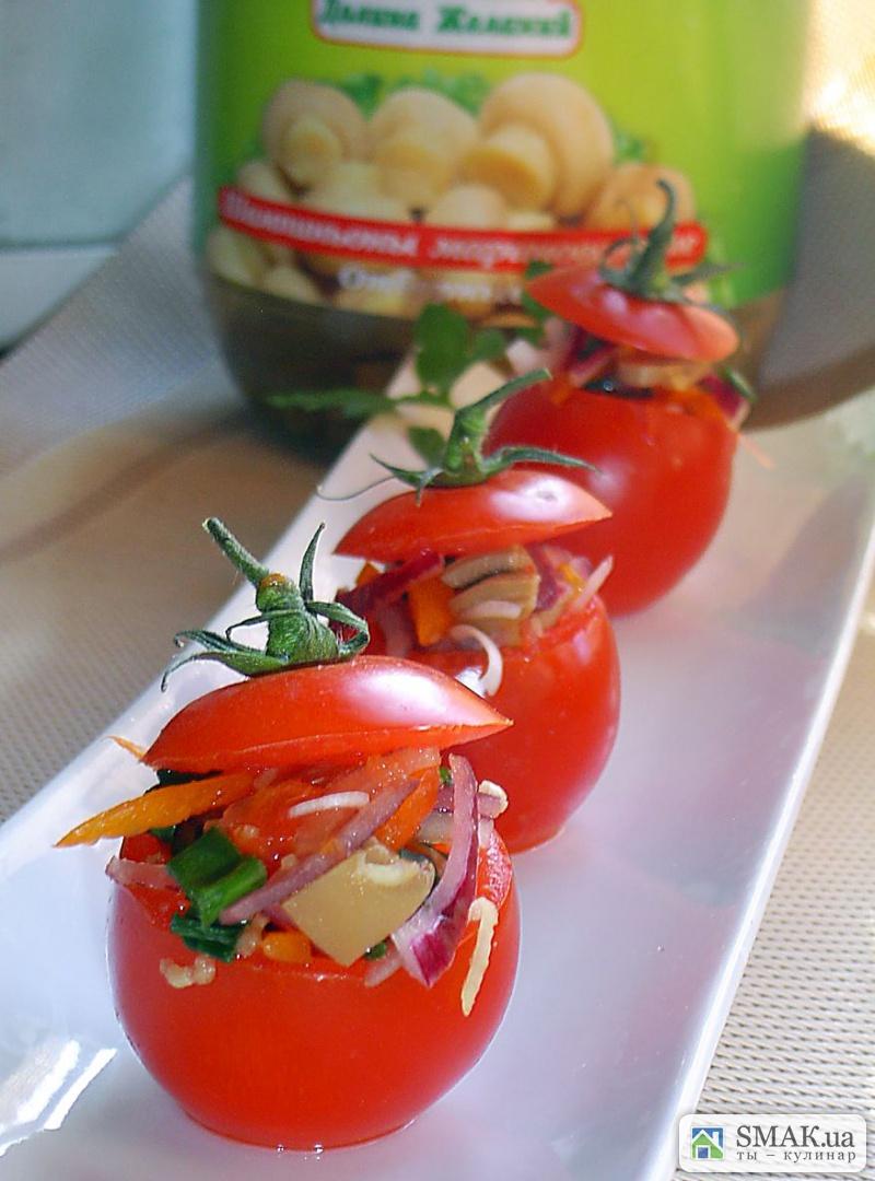 Горячие закуски из овощей рецепты